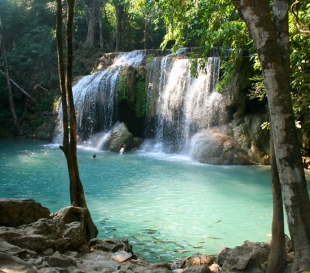 Водопад Эраван (Erawan Waterfall)
