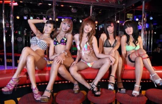 Секс с девушками го го баров тайланд
